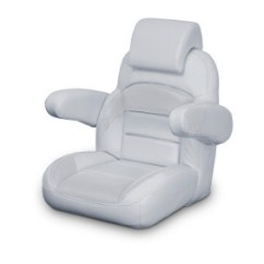 Captains Chair Cover For Pontoon Boat Office Cylinder Replacement Seats Sylvan Boats Iboats Helm Chairs