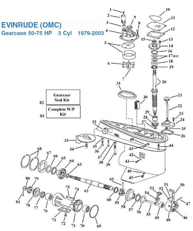 1990 evinrude 40 hp wiring diagram