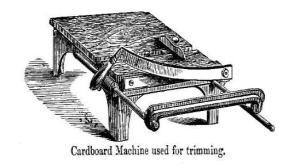 Cardboard-Trimmer-bookbinding