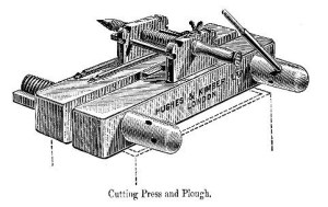 Plough-bookbinding