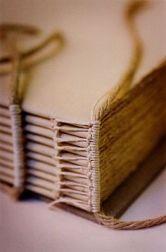 headband on linen sketchbook