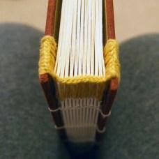 Woven headband yellow and gold