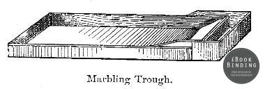 Marbling-Trough-Bookbinding-Diagram
