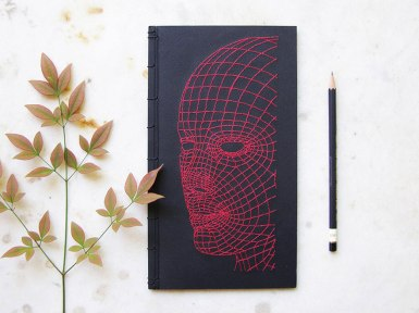 embroidered-notebook-cover-3d-face-on-book