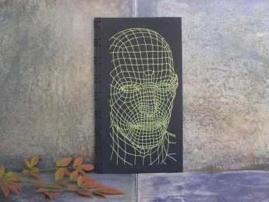 embroidered-notebooks-mesh-3d-face-yellow-on-black-front-cover