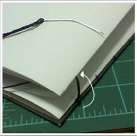 Bookbinding Tutorial Diagram - 14