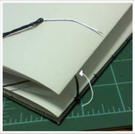 Bookbinding Tutorial Diagram - 14