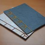 Japanese Stab Binding - Tortoise Stitch by Ffion, mindflight.me