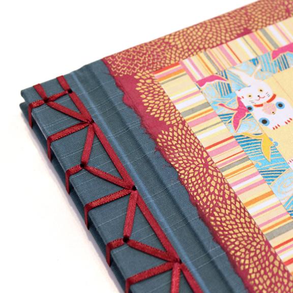 Japanese Stab Binding by Ruth Bleakley - http://www.ruthbleakley.com/blog/2012/03/awesome-handmade-books-japanese-stab-bindings