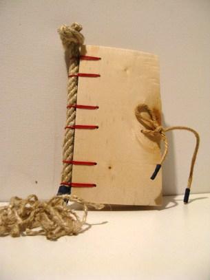Navy Secret Belgian Bound Book Wood by Ask Ida - https://www.flickr.com/photos/askida/4511654614