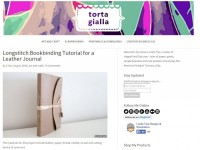 screenshot-Longstitch Bookbinding Tutorial for a Leather Journal tortagialla