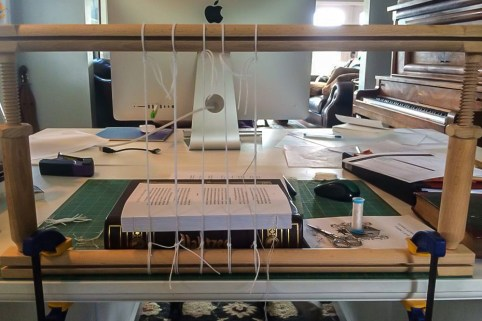 i Bookbinding - Sewing the Pages 2 - Copy