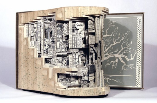 2015.11.19 - Brian Dettmer Book Sculpture