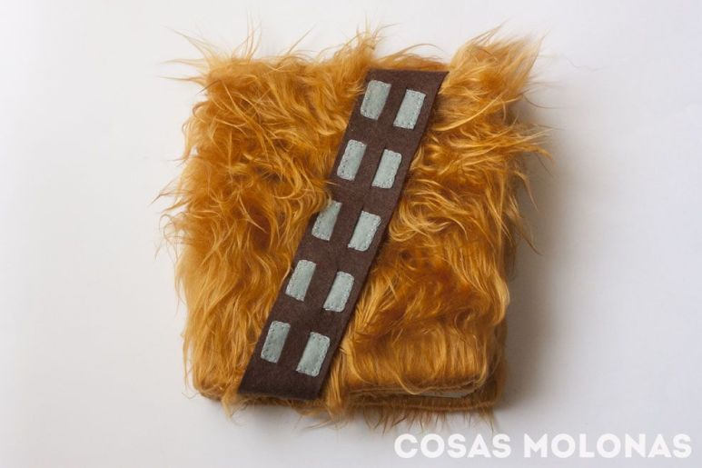 2015.12.16 - Star Wars Meets Bookbinding 01 Chewbacca Diary