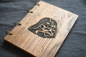 2015.12.16 - Star Wars Meets Bookbinding 22 Wood and Root