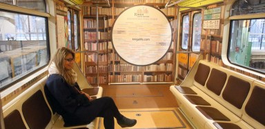 2016.05.24 - 03 - Literary-Themed Train in Moscow Metro