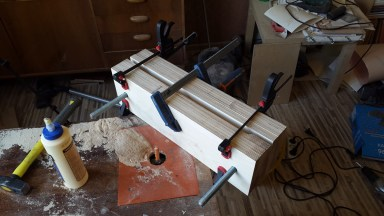 2016.05.27 - 04 - Making a Bookbinding Lying Press