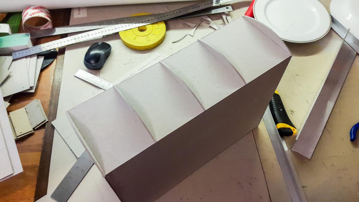 2016.08.26 - 04 - Building a False Rounded Spine for a Box