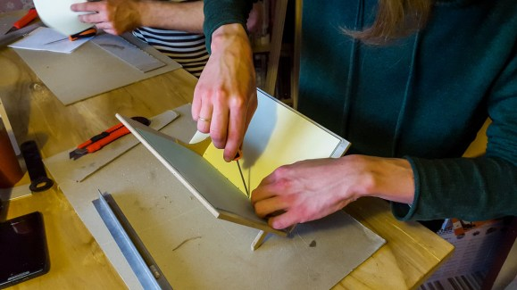 2016.10.07 - First Bookbinding Class of the Season 04