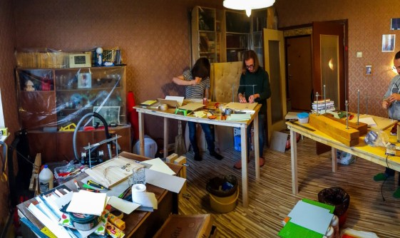 2016.10.07 - First Bookbinding Class of the Season 06
