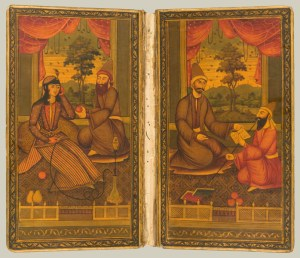 Doublures in a Divan of Hafez, 1842, Iran