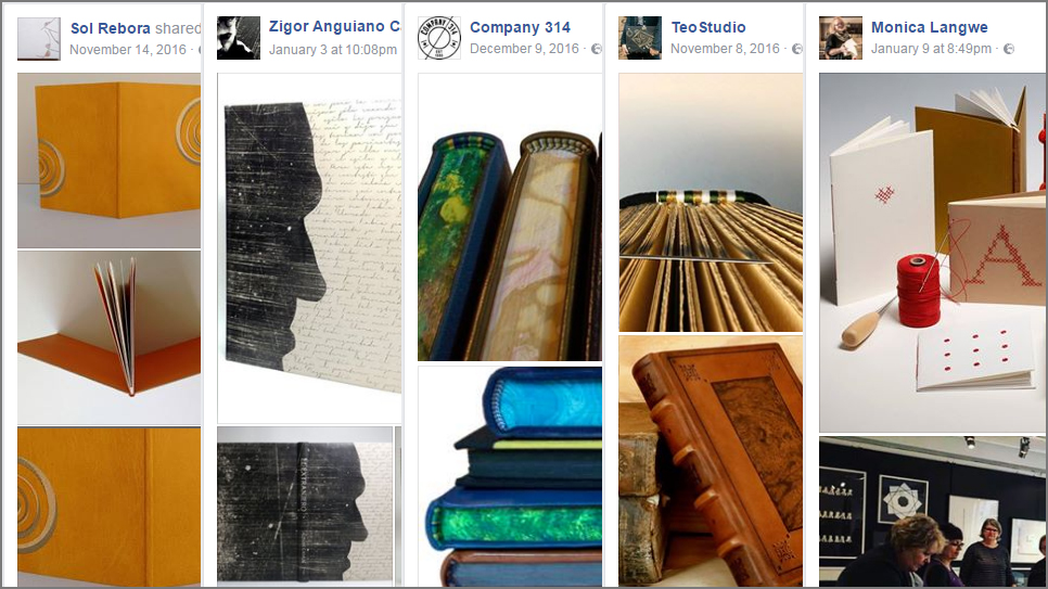 5 Beautiful Bookbinding-Themed Facebook Accounts to Follow This January