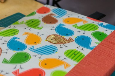 2017.01.30 - Gold Tooling 08 - Gold Tooling Book with Birds 05
