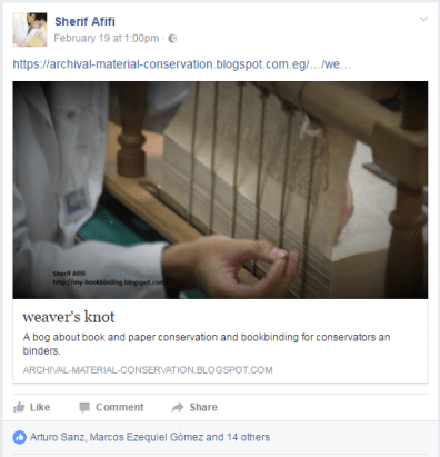 2017.02.21 - Beautiful Bookbinding-Themed Facebook Accounts - Sherif Afifi 01