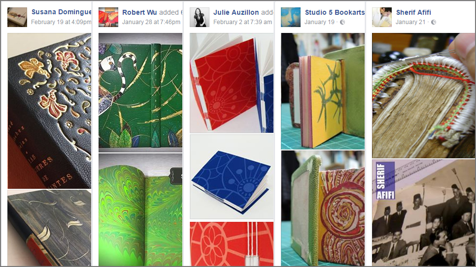5 Beautiful Bookbinding-Themed Facebook Accounts to Follow This February