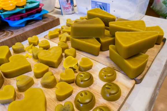2017.03.09 - 14 - Beeswax Bars Ready for Sale