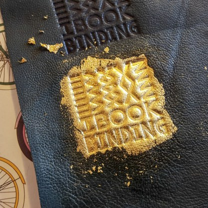 2017.03.28 - Gold Tooling Workshop - Bookbinding 19