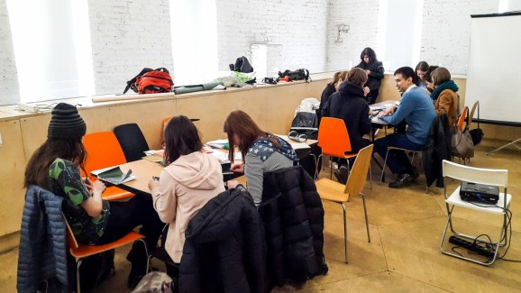 2017.04.09 - Japanese Binding Workshop at Shalom Moscow 01