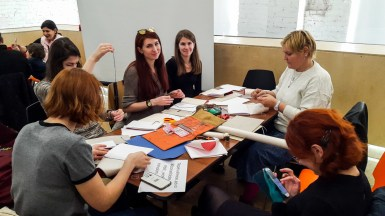 2017.04.09 - Long Stitch Binding Workshop at Shalom Moscow 01