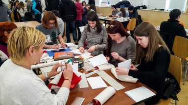 2017.04.09 - Long Stitch Binding Workshop at Shalom Moscow 05