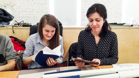 2017.04.09 - Long Stitch Binding Workshop at Shalom Moscow 07