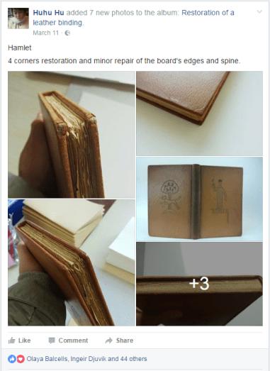 2017.04.17 - 5 Beautiful Bookbinding-Themed Facebook Accounts to Follow - Huhu Hu 01