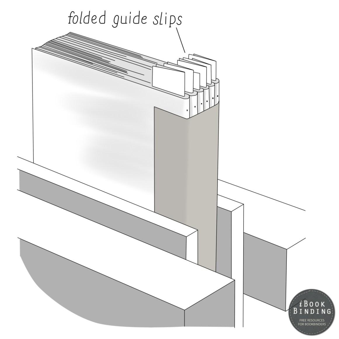 2017.04.20 - Figura 211 – Utilização de cartões dobrados para furar os cadernos