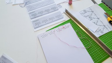 Japanese Bookbinding with Kids 02