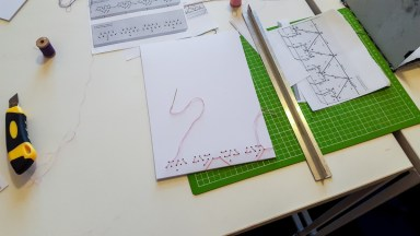 Japanese Bookbinding with Kids 03