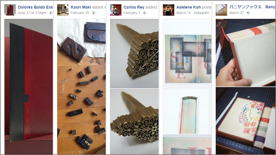 5 Beautiful Bookbinding-Themed Facebook Accounts to Follow This July