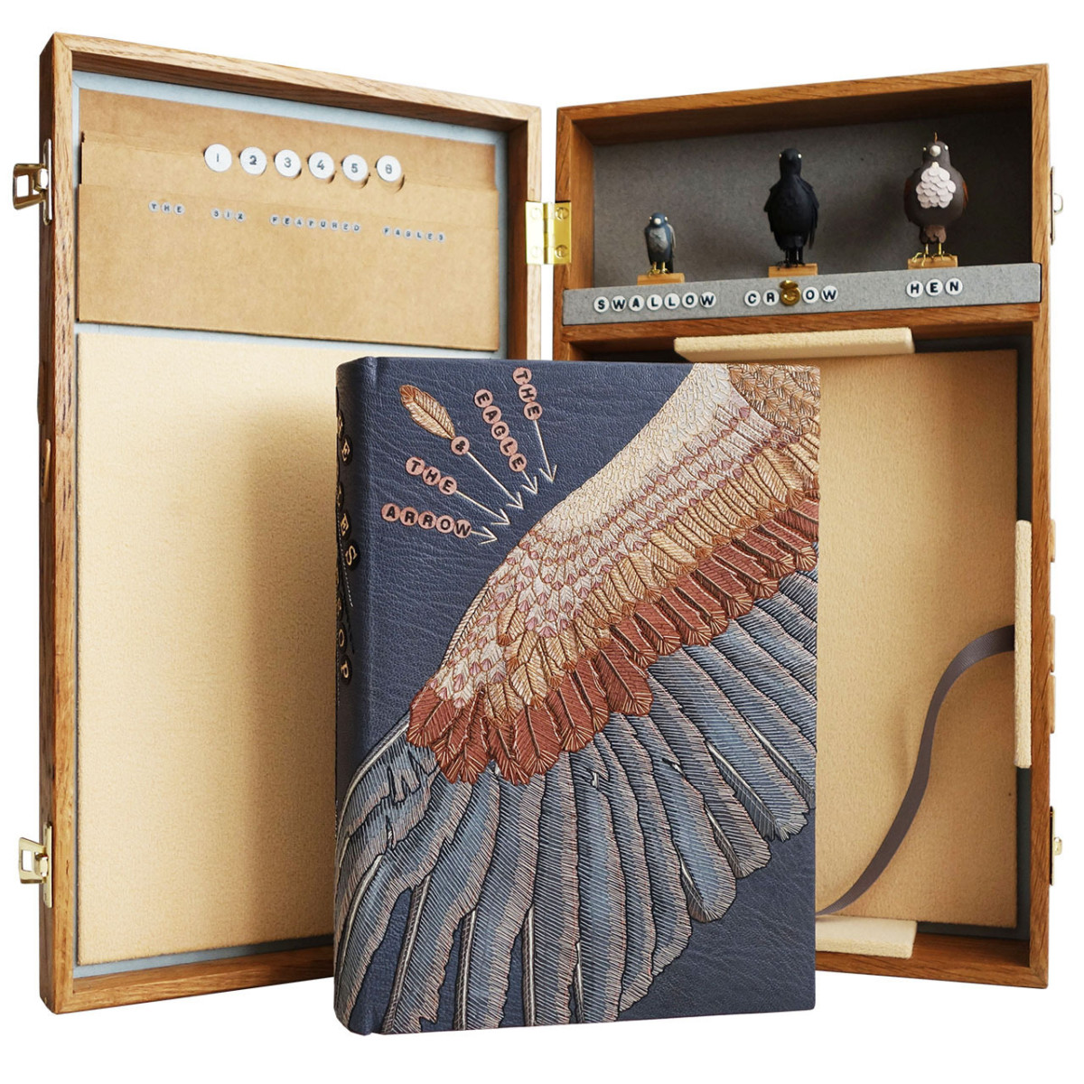 2017.08.18 - Designer Bookbinders International Competition 2017 - Distingiushed Winners - Hannah Brown - The Fables of Æsop 9