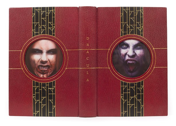 2017.08.18 - Designer Bookbinders International Competition 2017 - Distingiushed Winners - Steven Orriss - Dracula