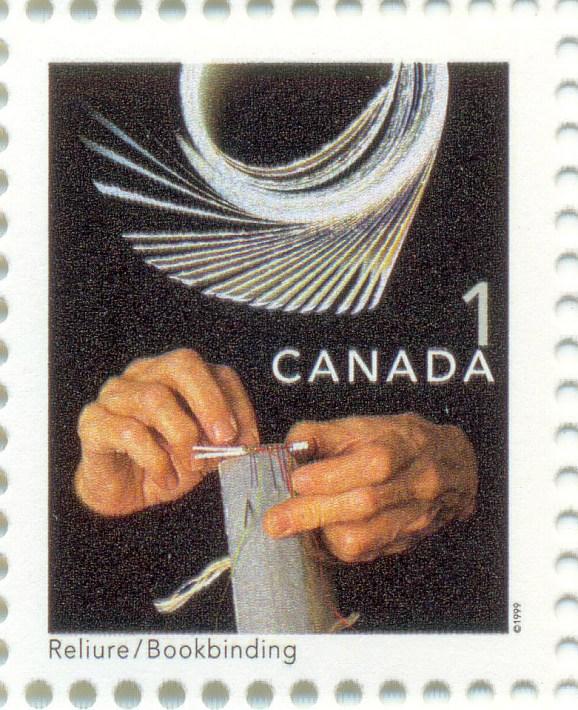 Canada 1999 Mi CA 1764 - Bookbinding-2