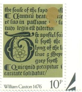 UK 1976 Mi GB 720 - 500 Years of Bookprinting in the UK 10p