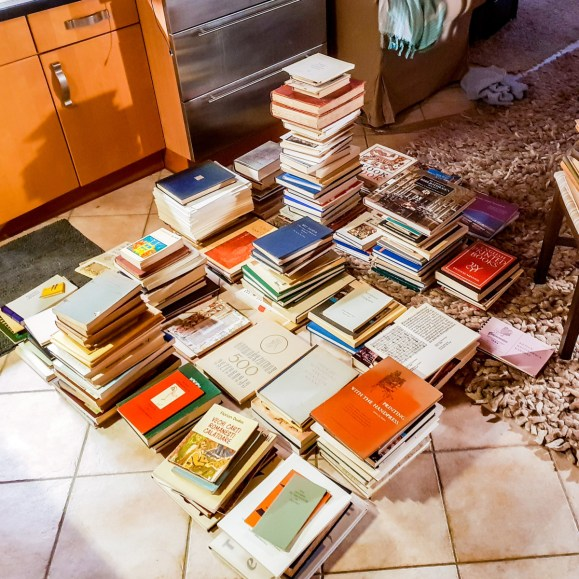 Sorting My Bookish Book Collection 01