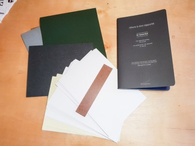 2018.12.05 - Dos Rapporté by the Bookbinding Out of the Box - Full Package Contents 02