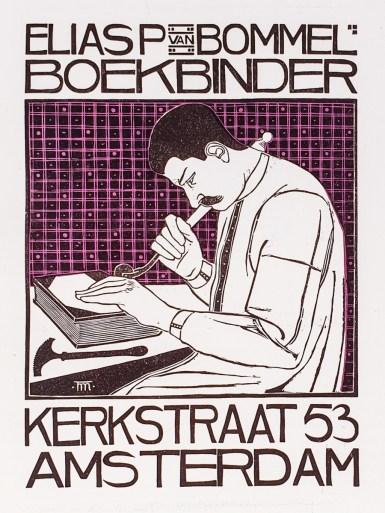2019.02.21 - Amazing Century-Old Book Industry Ads - Elias van Bommel Boekbinder 3