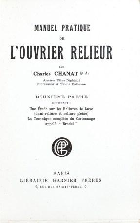 2019.03.07 - Manuel pratique de l'ouvrier relieur, deuxième partie (Charles Chanat, 1921) 02