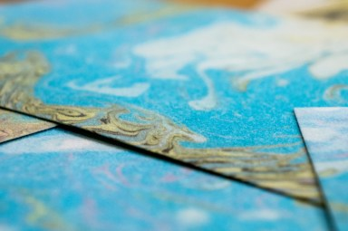 2019.03.11 - Marbled Velour Paper - Heaven for Visual and Kinesthetic Persons Alike! 01