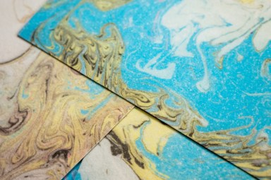 2019.03.11 - Marbled Velour Paper - Heaven for Visual and Kinesthetic Persons Alike! 03
